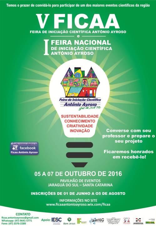cartaz FICAA 2016